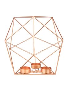 Living by Christiane Lemieux Hexagon 3 tealight holder