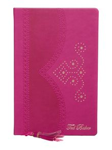 Ted Baker Purple brogue notebook