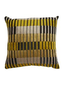 Linea Block stripe cushion