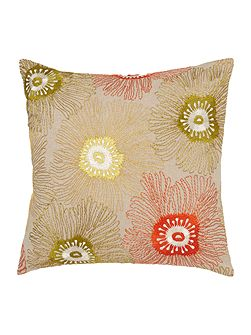 Mago floral embroidered cushion