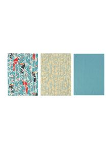 Linea Villa Vista set of 3 tea towels