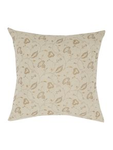 Junipa Amara metallic flower print cushion