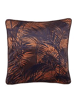 Veronica palm print cushion