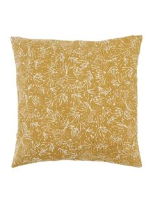 Gray & Willow Scratch mark cushion, ochre