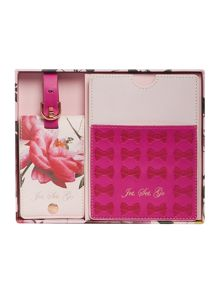Ted Baker Pink citrus travel set