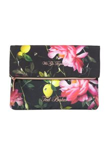 Ted Baker Black citrus laundry bag