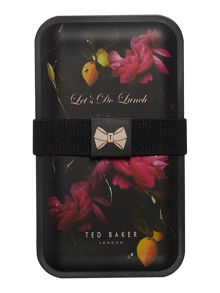 Ted Baker Black citrus lunch box