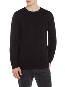 Lindbergh Cut and sew jumper