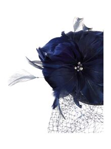 Linea Stella flower pillbox fascinator