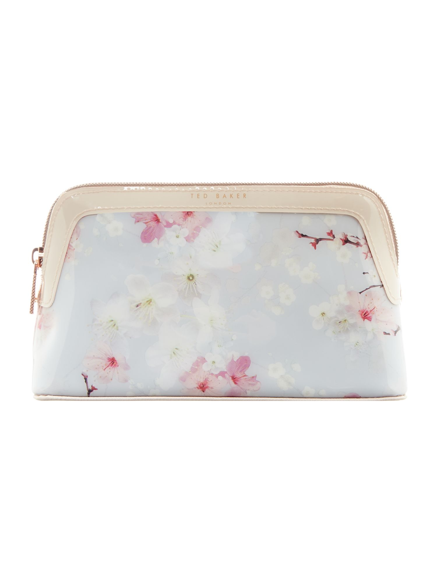 Ted Baker Chiplin blossom small cosmetic bag Grey