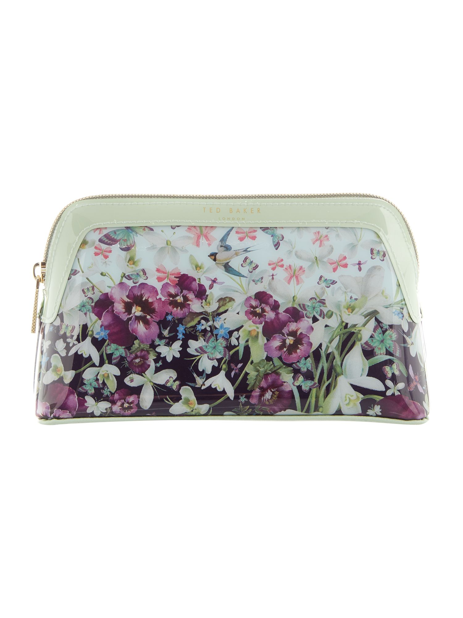 Ted Baker Eiliana enchantment small cosmetic bag Navy