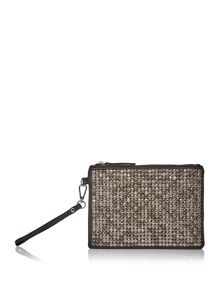 Label Lab Hammered stud pouch