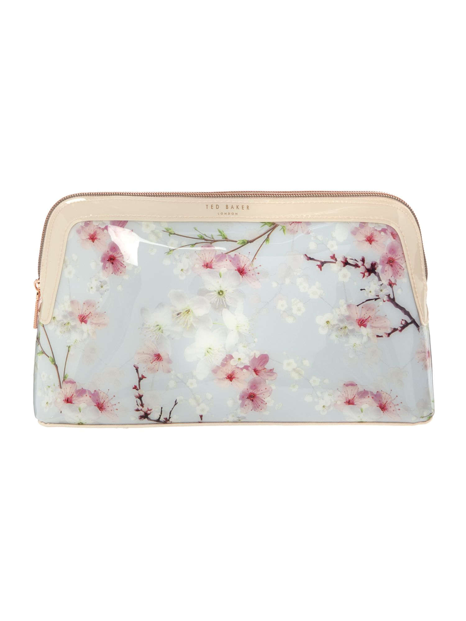 Ted Baker Blossom large cosmetic bag Grey