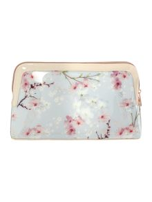 Ted Baker Blossom large cosmetic bag