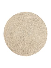 Linea White Seagrass Placemats Set of 4