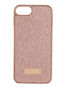 Ted Baker Sparkls light pink glitter iphone 6 case