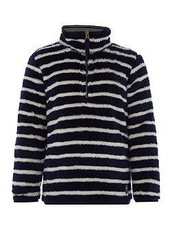 Boys Zip Reversible Sweatshirt Jumper