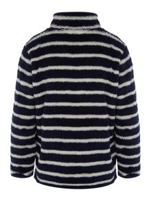 Joules Boys Zip Reversible Sweatshirt Jumper