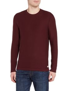 Jack & Jones Knitted Crew-Neck Cotton Jumper