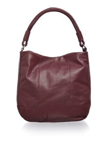 Pieces Fig leather hobo bag