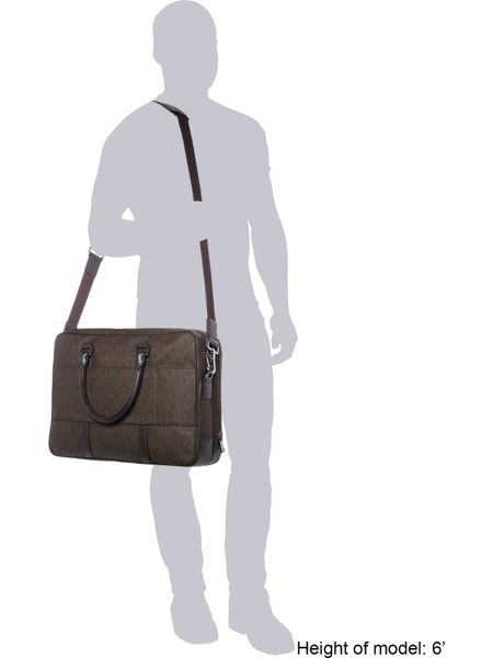 Michael Kors Large Double Gusset Briefcase