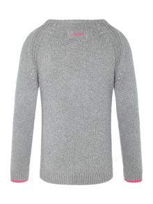 Joules Girl`s Jumper Long Sleeve Glitter
