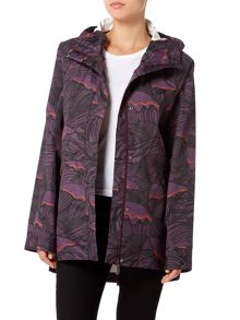 Hunter Original wave print light weight smock