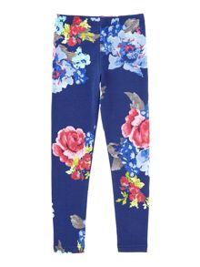 Joules Girls Floral Leggings