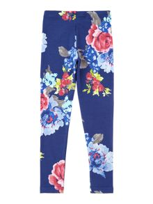 Joules Girl`s Floral leggings