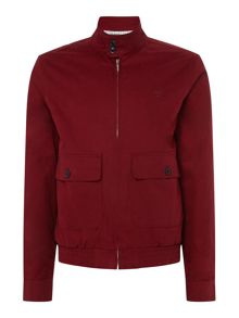 Perry Ellis America Zip-Through Cotton Jacket