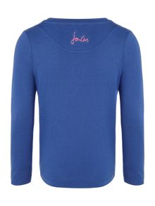 Joules Girl`s T Shirt Long Sleeve Sequin