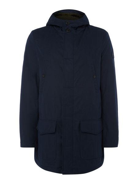 Perry Ellis America Shower-Proof Parka Jacket