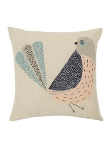 Dickins & Jones Timmy bird print cushion