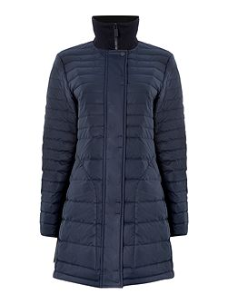 Original short refined puffer coat