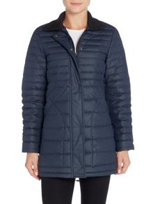 Hunter Original short refined puffer coat