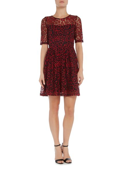 Vero Moda vm carrie lace fit flared dress