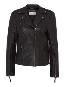 Maison De Nimes Cliff Faux Leather Jacket
