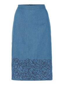 Dickins & Jones Elle Embroidered Skirt