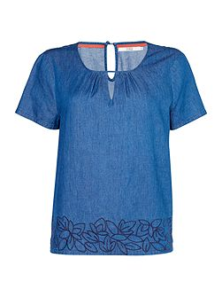 Safia Embroidered Top