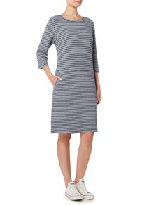 Dickins & Jones Talia Textured Stripe Dress