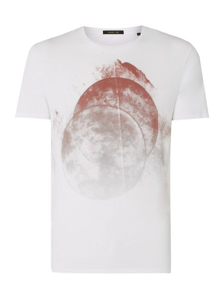 Label Lab Double Circle Graphic T-Shirt