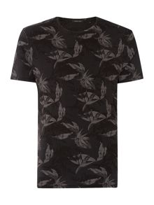 Label Lab Fall Winter Floral Graphic T-Shirt