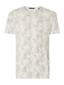 Label Lab Spike Floral Graphic T-Shirt