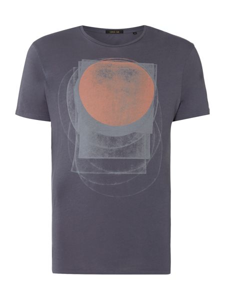 Label Lab Overlaying Circles Graphic T-Shirt