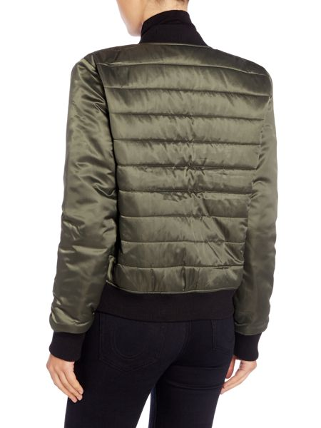 True Religion Colour block puffer jacket