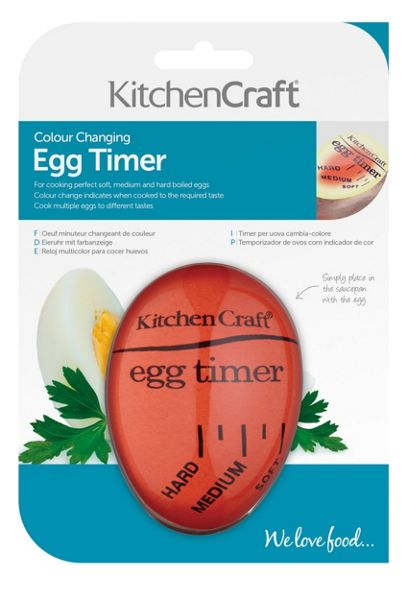 Kitchen Craft Colour Changing Egg Timer