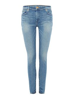 Halle mid rise super skinny in gypset blue