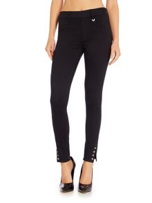 True Religion Eyelet runway legging