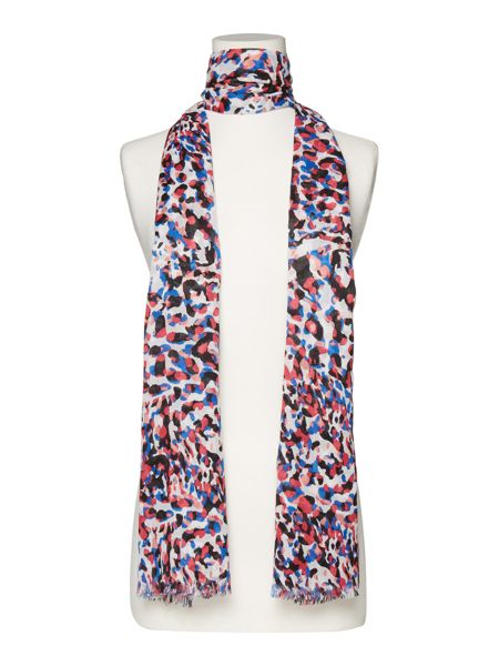 Therapy Smudge print scarf