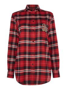 Polo Ralph Lauren Ls crst st-long sleeve shirt